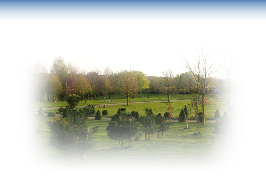 View of the grounds at Harwood Park